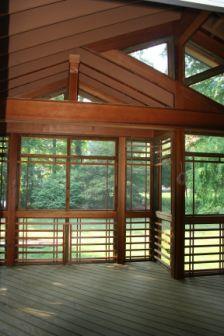 Shoji Screened Porch | Ballard + Mensua Architecture