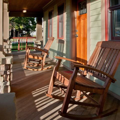 Henry Project's Rocking Chairs on the Front Porch