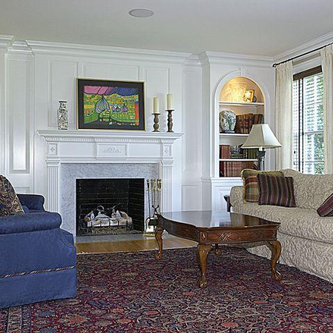 Final living room for the Cripplegate home renovation
