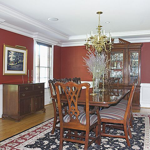 Finished formal dining room from Cripplegate project
