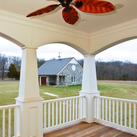 Deep front porch for Ballard & Mensua's Sugarland Lane project