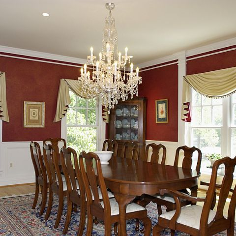Final formal dining room from Frank M Bell at Newington Rd