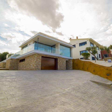 Front left elevation - Costa Brava Overlook - Ballard & Mensua Architecture