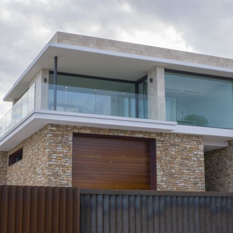 floor to ceiling second floor - Costa Brava Overlook - Ballard & Mensua Architecture