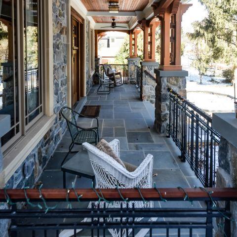 front porch detail - carpenter's challege - Alison project