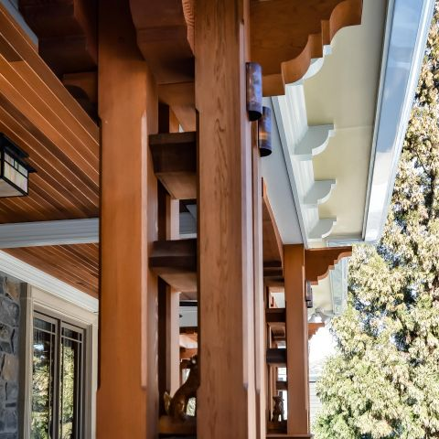 front porch column detail - carpenter's challege - Alison project