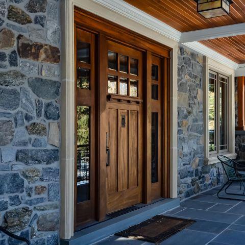 front door carpentry - carpenter's challege - Alison project