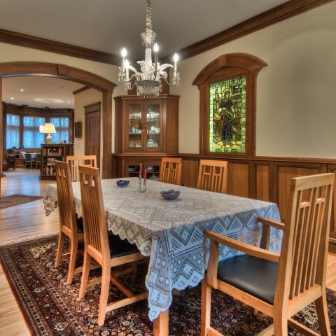 dining room and lighting - carpenter's challege - Alison project
