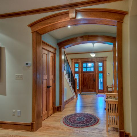 foyer detail - carpenter's challege - Alison project