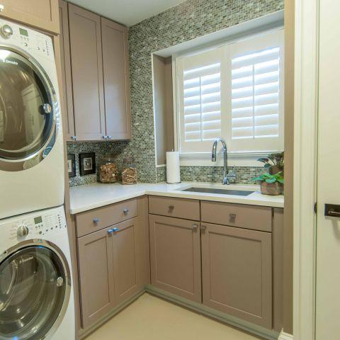 Bennington project - Little City rambler - laundry room
