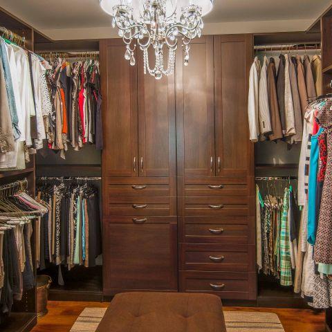 Bennington project - Little City rambler - master closet
