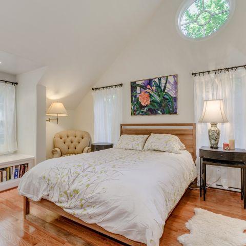 Master Bedroom facing the backyard - The Shire of Spring Valley - Ballard & Mensua