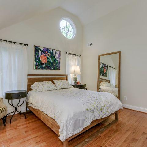Master bedroom looking towards the master bathroom - The Shire of Spring Valley - Ballard & Mensua