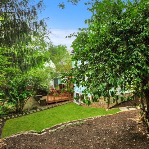 left side yard with landscaping - The Shire of Spring Valley - Ballard & Mensua