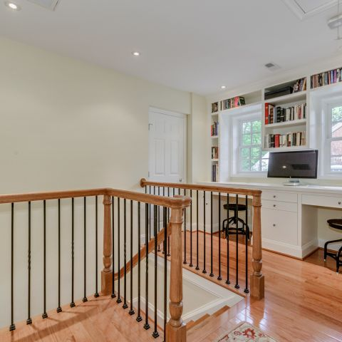 Loft with railing on the second floor - The Shire of Spring Valley - Ballard & Mensua