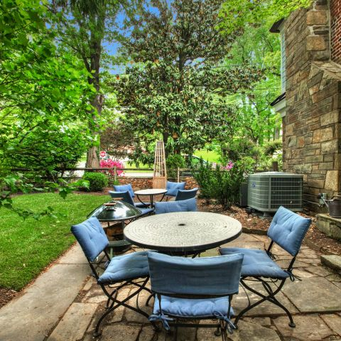 backyard patio and furniture setup - The Shire of Spring Valley - Ballard & Mensua