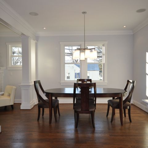 dining room overview - Clarendon bungalow - Cima project