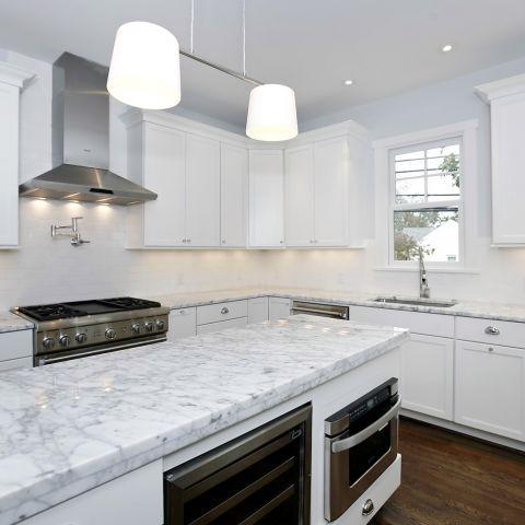 final kitchen view - Clarendon bungalow - Cima project
