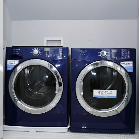 laundry room after - Clarendon bungalow - Cima project