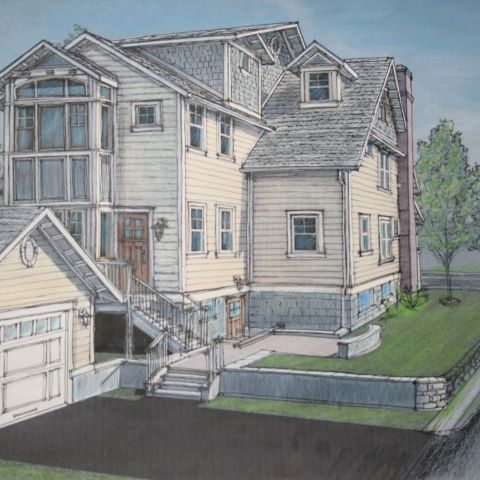 Cima project - clarendon bungalow - exterior rendering