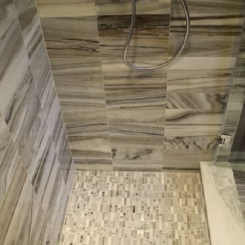 Cruzan project - Island rambler rennovation - shower detail