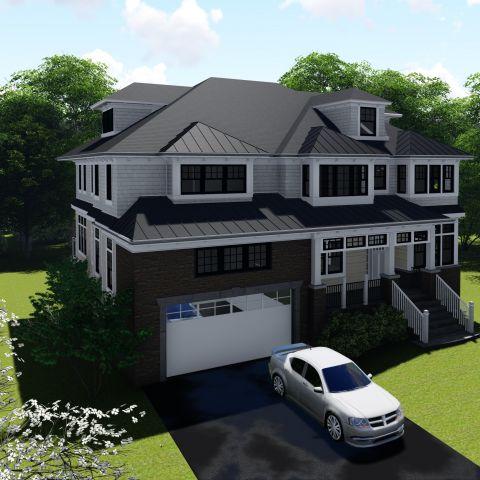 upper left front exterior view - tatari dillon project - ballard & mensua