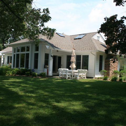 Enrico-Easton - waterfront cottage renovation - exterior side after