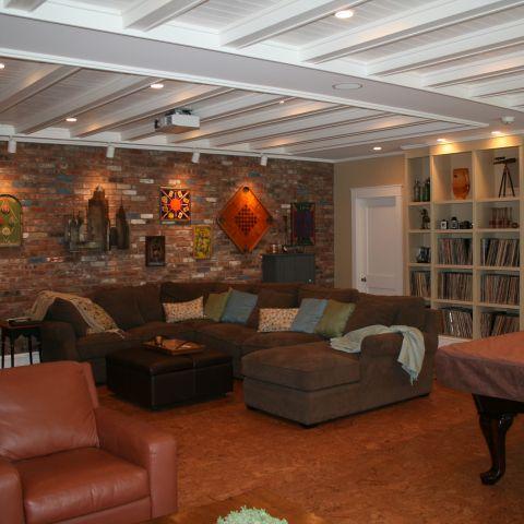 Enrico-Easton - waterfront cottage renovation - family room detail