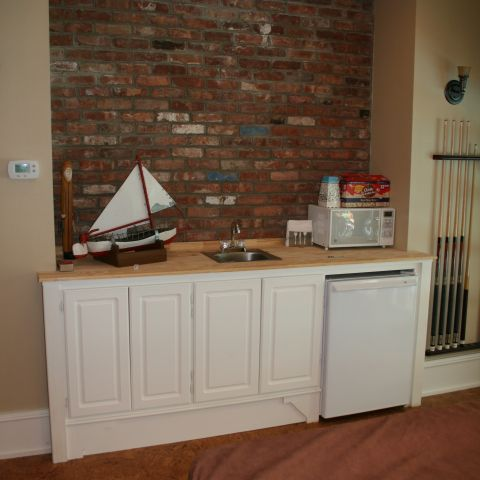 Enrico-Easton - waterfront cottage renovation - family room cabinet details