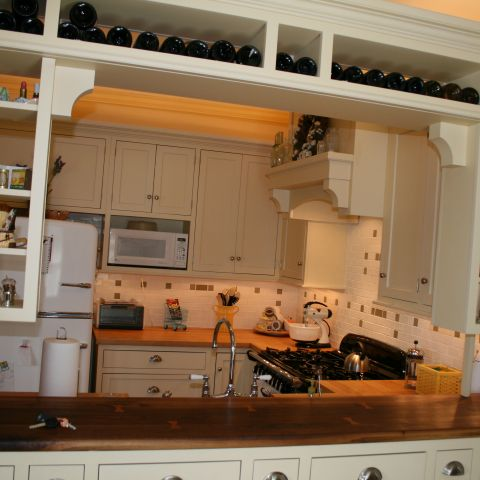 Enrico-Easton - waterfront cottage renovation - kitchen counter after