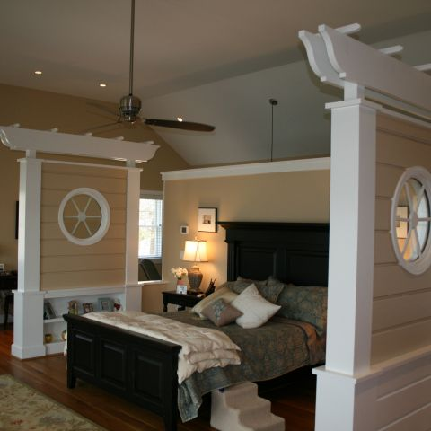 Enrico-Easton - waterfront cottage renovation - master bedroom after