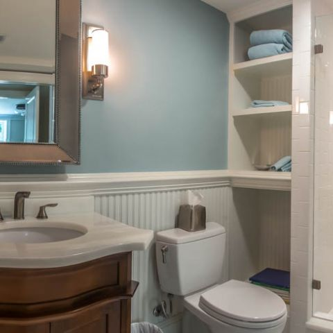 basement bathroom full - McLean waterfront - Graham project