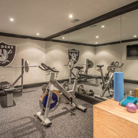 exercise room - McLean waterfront - Graham project