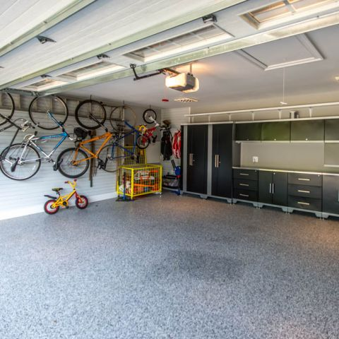 garage - McLean waterfront - Graham project