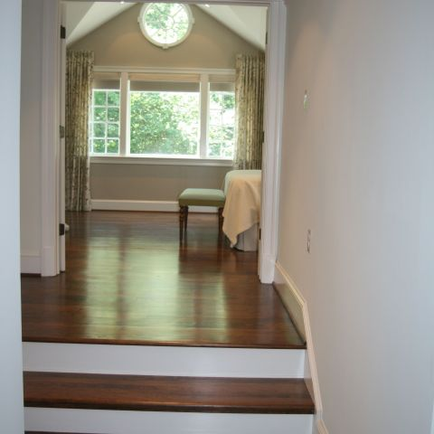 hallway towards master bedroom
