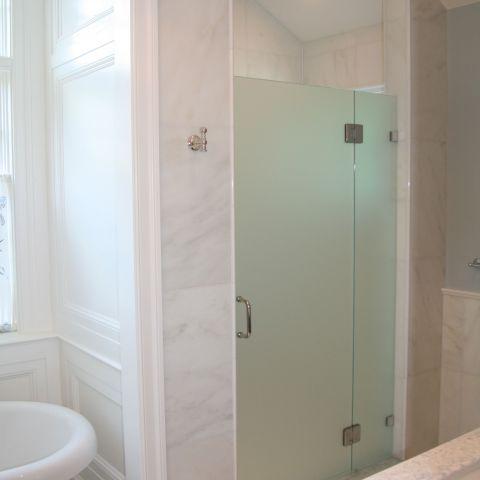 mast bath shower detail - McLean waterfront - Graham project