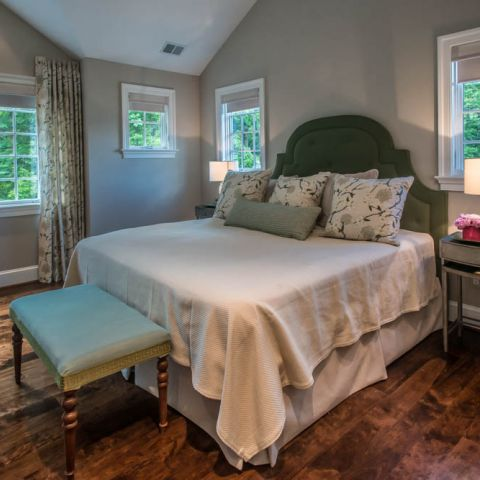 master bedroom towards deck