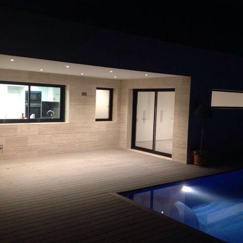 back deck by night - Ballard & Mensua