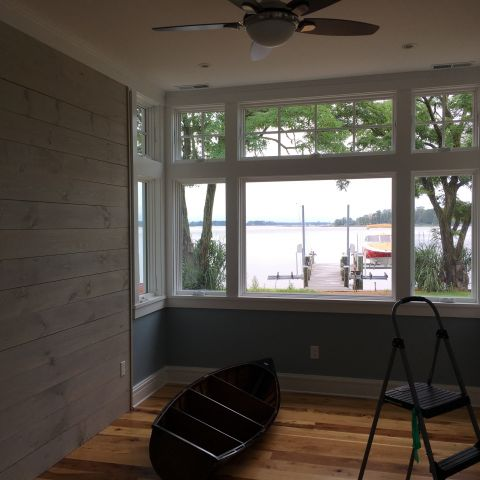shore view living room - shore house - karminski project