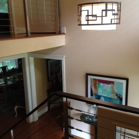 aerial version of foyer for empty nesters