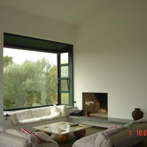 living room detail - Costa Brava Project - Ballard & Mensua