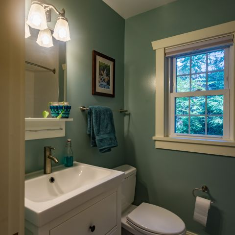 hall bathroom detail - Two story renovation - Loucks project