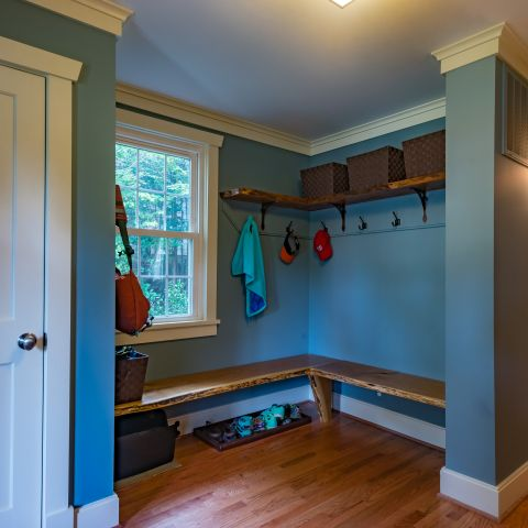 mudroom - Two story renovation - Loucks project