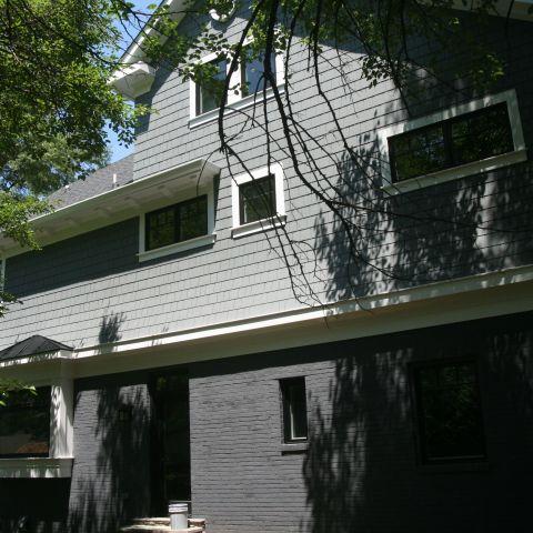 backyard view - McLean renovation - Smith project