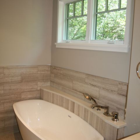 master bathroom tub and windows - McLean renovation - Smith project