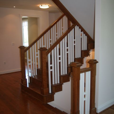 staircase details - McLean renovation - Smith project